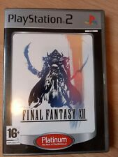 Final Fantasy XII Sony Playstation 2 PS2 Platinum Game