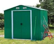 NEW STEEL GARDEN SHED ( 6' x 8 ' ft ) 5.3M²