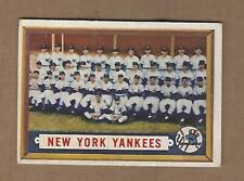 1957  TOPPS   NEW  YORK  YANKEES  TEAM  #  97