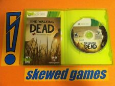 The Walking Dead The Game - Telltale Tell Tale - XBox 360 Microsoft COMPLETE