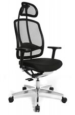 Wagner Alumedic 10 Bürostuhl Alu Medic 10 Stuhl Dondola mit Armlehnen Fb schwarz