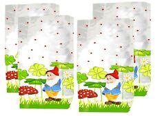 Transparent Motiv-Bodenbeutel Gift Bag, 10 Pieces Frühlingstüten Kids Motif