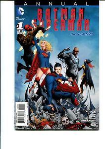 BATMAN / SUPERMAN #1 ANNUAL FIRST PRINT VF