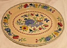 Masons Regency Oval Meat Dish 12""