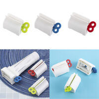 Toothpaste Dispenser Rolling Squeezer Holder Hanging Hook Suction Plastic Tubes