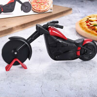 Motorcycle Pizza Cutter Pizza Wheel Roller Tool Bicycle Kitchen Tool