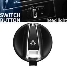 Chrome Car Headlight Switch Button For BMW 1 3 Series E88 E82 E90 E91 X1 E84