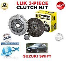 FOR SUZUKI SWIFT II 1.3 GTi HATCH 101 BHP 1989-2001 ORIGINAL LUK 3PC CLUTCH KIT