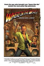 WHERE IN THE WORLD IS OSAMA BIN LADEN - Movie Poster - Flyer - 13.25x19.75