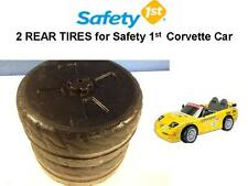 """2 REAR TIRES FOR THE 12volt Safety CORVETTE CAR These tires are 11 3/4"""" dia x 5"""""""
