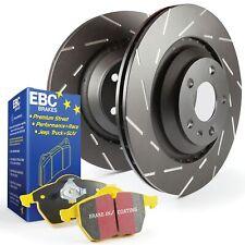EBC Rear USR Brake Discs & Yellowstuff Pads Kit For Mazda Mx5 Mk1 NA 1.8 16v