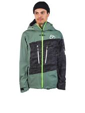Men's Ortovox 3L Guardian Shell Giacca Verde Foresta XL