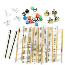 Electronic Parts Pack Kit For ARDUINO Component Resistors Switch Button Hot