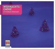 Weihnachtschöre-Christmas Choruses von Thomanerchor Leipzig,Dresdner Kreuzchor (2007)