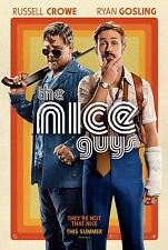 The Nice Guys Original Double-Sided Movie Poster 27x40 NEW 2016 Crowe Gosling