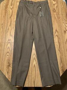 NWT GEORGE Suiting Separates Hi Twist Super 130's Mens Dress Pants W36 x L34 New