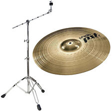 PAISTE pst3 18 CRASH-RIDE + Potence-Bassin Support