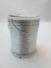 Beading Wire 24 Yards, 24 gauge - Silver toned