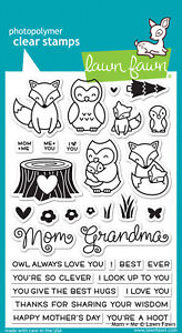 Lawn Fawn Stamps Mom + Me LF1134