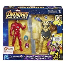 MARVEL Avengers Infinity GUERRA Iron Man vs. Thanos batalla set