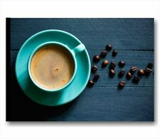 Quadro bar, Caffè - QUADRI INTELAIATI 70x50 ARREDO VINTAGE STAMPA TELA COFFEE