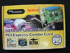 Xsonic 2 Port eSATA2 + ATA133 PCIe MODEL : FG-EJ363-1A2E-A4-01-UN01    CLEARANCE