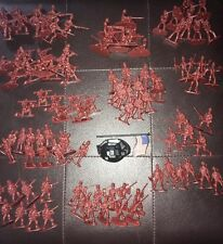 100 Plastic Army Men. American Army. USA. Toy Soldiers. Party Bag Fillers
