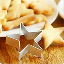 Exquisite Five-pointed Star Decorating Mold Metal Cookie Cutters DIY Baking Tool