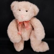 Russ Berrie Pink Champagne Stuffed Animal Plush With Bow Beanie 10""