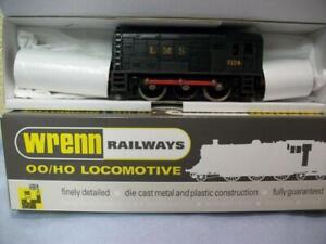 Class 08 0-6-0 Diesel Loco 7124 LMS Black Wrenn No W2233 '00 Repro Box 1970s Iss