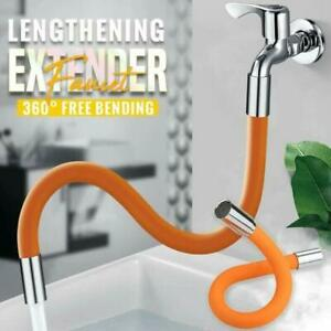 Faucet Lengthening Extender 360-Degree Rotating 20 / 30 / 40 / 50 cm Silicone
