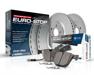 Front Brake Pad and Rotor Kit For 2000-2006 BMW X5 2001 2002 2003 Power Stop