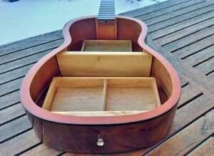 AMAZING Guitar shelf, guitar shelf, unique, furniture object, musician furniture