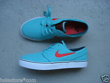 Nike Air Sb Zoom Stefan Janoski Canvas 45 Crystal Mint/Lt Crimson-Black