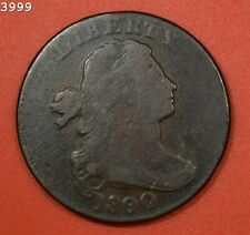"""1800/1790 """"Head of 99""""S-196 R-1"""" Draped Bust Large Cent """"VG+"""""""