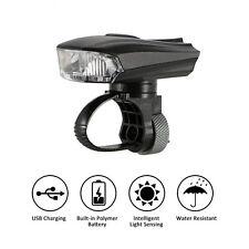 Neu LED Fahrradlampe Set Vorderlicht USB Aufladbar CREE LED Smart Licht
