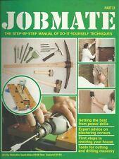 JOBMATE 51 DIY - PLASTERING, HOUSE REWIRING, DRILLS etc