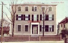 ELBRIDGE GERRY'S HOUSE, MARBLEHEAD, MA