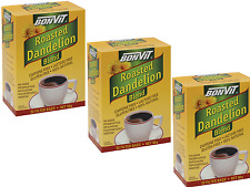 3 x 32 bags BONVIT Roasted Dandelion Filter Tea Bags ( 96 bags ) CAFFEINE FREE