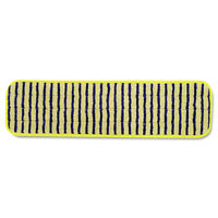 Rubbermaid Commercial Q810YEL 6-Pc. Microfiber 18 in. Scrubber Pads - Yellow New
