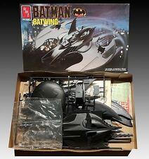 AMT ERTL 1/25 Batman Batwing Model Kit #6970 (1990) w/ Wayne Corp Decals
