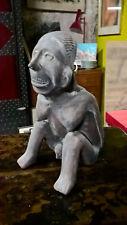 Statue précolombienne / Art précolombien / Femme accouchement terre cuite