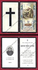 SANTA LEGA EUCARIST. n° 543 LUTTINO 1923 - SANTINO HOLY CARD IMAGE PIEUSE