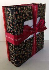 Elsa L 2 Photo Album Gift Set Floral Fabric Covers Each Album Holds 200 Photos