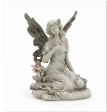 Enchanted Fairy and Flowers Garden Statue