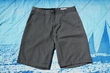 Mens Volcom Grey True To This Shorts Size 33