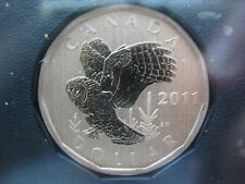 2011 Canada Specimen Great Gray Owl Loonie ($1) *Rare*