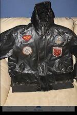 Pre-Owned Vintage Avirex Flight Pilot Leather Jacket -Top Gun - Size- XL-Tomcat