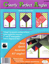 Clearly Perfect Angles - template to make sewing easier