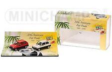 MINICHAMPS 402 121430 FIAT PANDA 30th ANNIVERSARY model 2 car set 1980 1:43rd